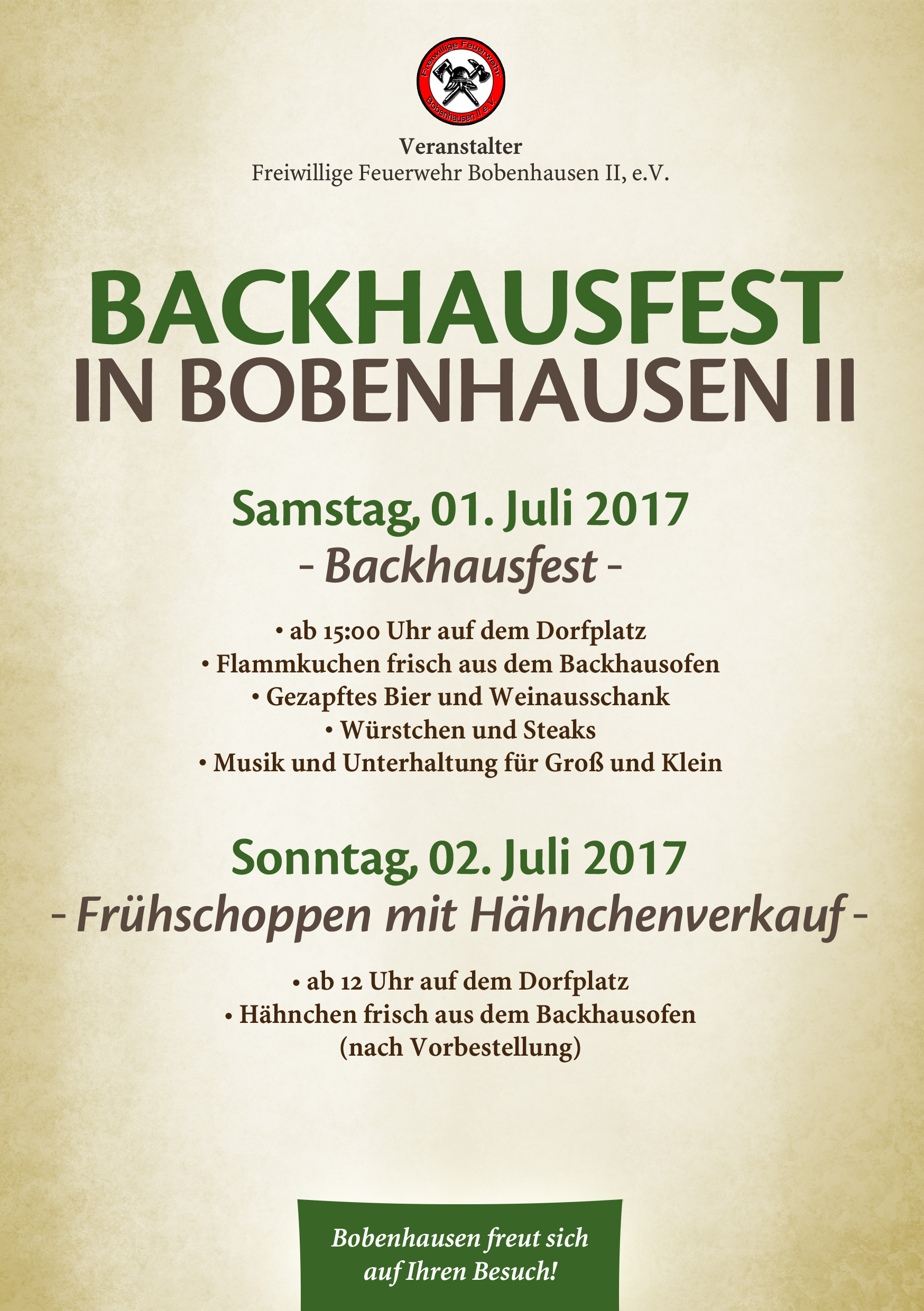 Backhausfest 2016